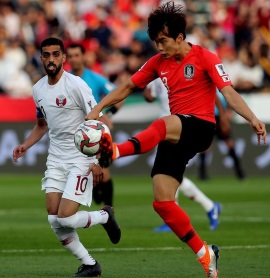 South Korea loses to Qatar in 2019 Asian Cup