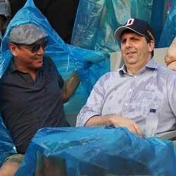 전 미국 대사 리퍼 트 한국 야구의 사절 남아