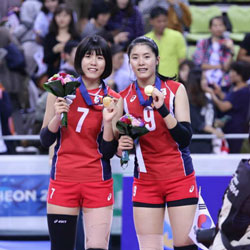 올림픽 어머니의 발자취를 따라가는 한국 배구 쌍둥이