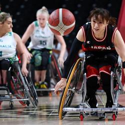 일본 vs Australia – 패럴림픽 여자 휠체어 농구 보고서